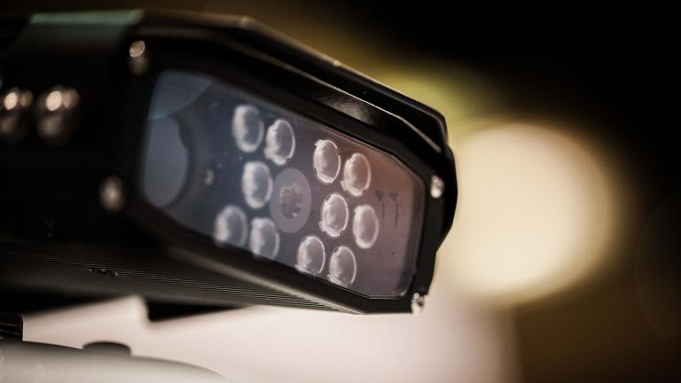 Police officials say the license plate readers allow officers to quickly identify stolen vehicles. (Chicago Police Department)