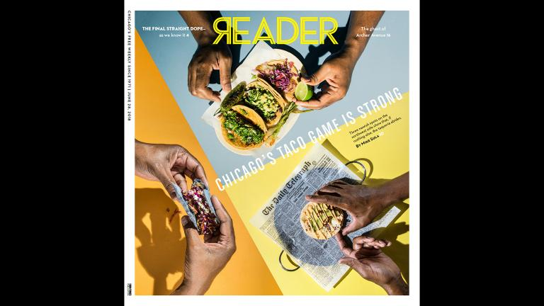 Chicago Reader cover dated June 28, 2018. (Chicago Reader / Facebook)