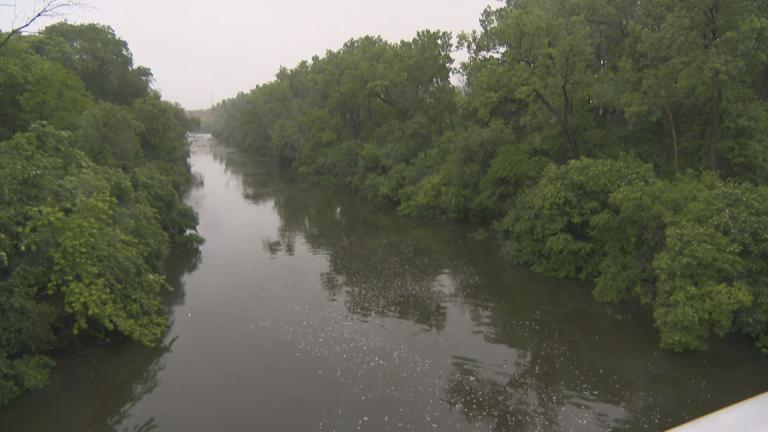 Chicago has seen 6 inches of rain in June, well above the historical average, according to data from the National Weather Service. (Chicago Tonight)