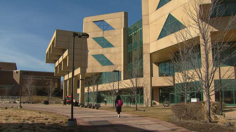 A file photo of Chicago State University. (WTTW News)