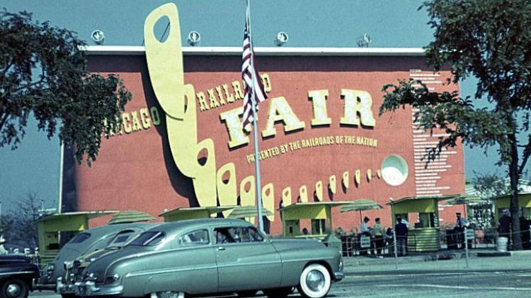 Chicago Railroad Fair, 1948.