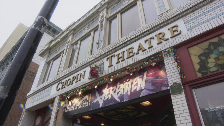 The Chopin Theatre in Wicker Park (WTTW News)