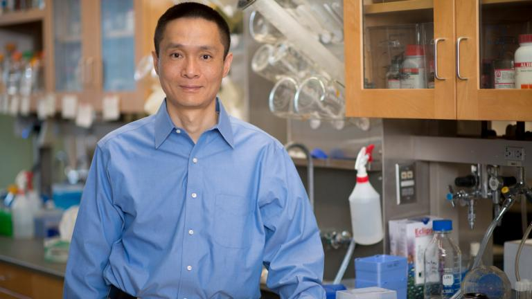 University of Chicago professor Chuan He (Lloyd DeGrane for the University of Chicago)