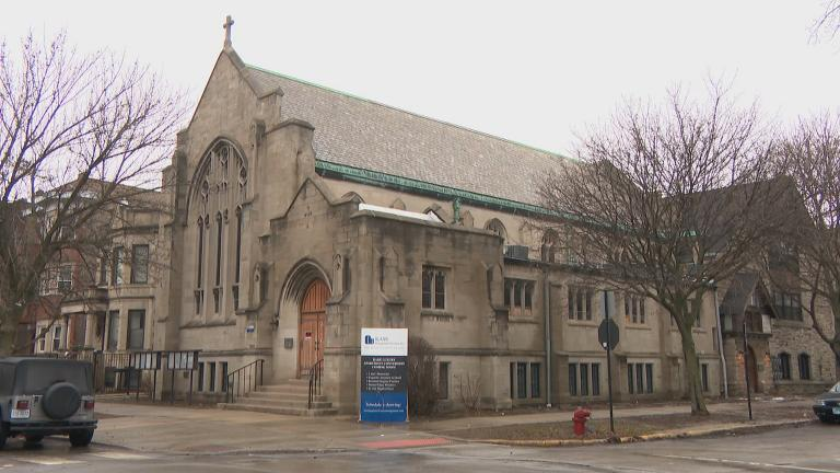 The now-closed Church of the Advent, 2900 W. Logan Blvd., in Logan Square.