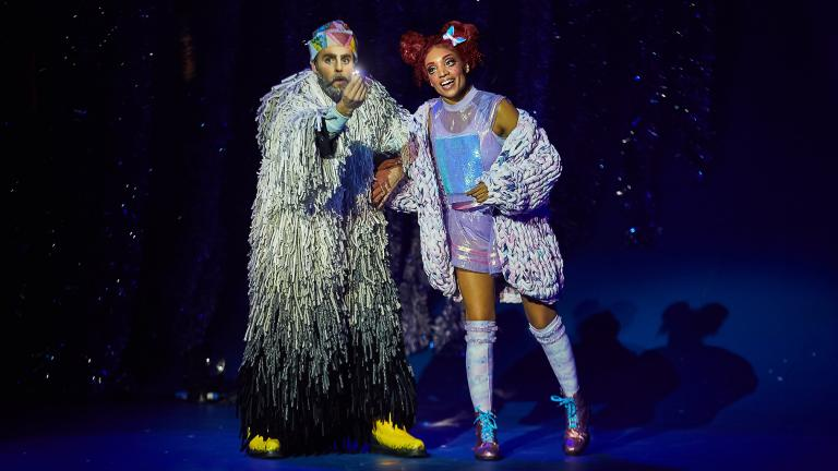 "Cirque du Soleil's world premiere show ""'Twas the Night Before …"" (Credit: Errisson Lawrence)"
