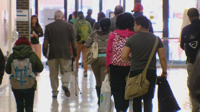 New fall programs offered by City Colleges are aimed at helping Chicagoans start or resume their college education amid the pandemic. (WTTW News)
