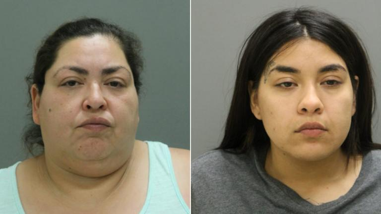 Clarisa Figueroa, left, and Desiree Figueroa (Chicago Police Department)