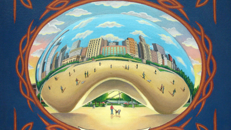 Cloud Gate by Fernando Ramirez
