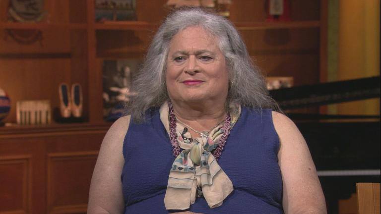 "Jennifer Pritzker appears on ""Chicago Tonight"" on July 16, 2019."