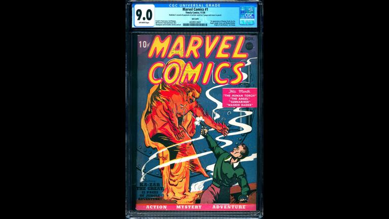 Marvel Comics #1 CGC 9.0 Pay Copy $1,000,000.00 The Pay Copy Pedigree (Courtesy Vincent Zurzolo)