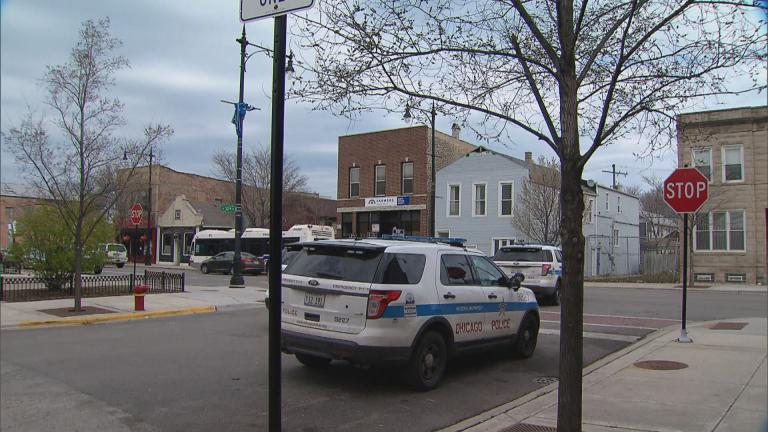 Chicago's 9th Police District at 32nd and Halsted streets in Bridgeport. (WTTW News)