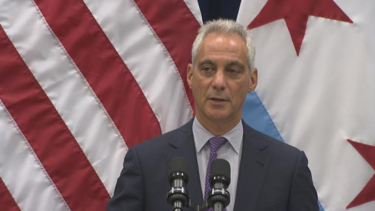 """""""On this case, I think it's more important to get it right, than get it fast,"""" Chicago Mayor Rahm Emanuel said Wednesday about reaching agreement on a police consent decree. (Chicago Tonight)"""