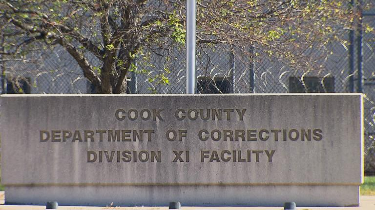 Cook County Jail (WTTW News)