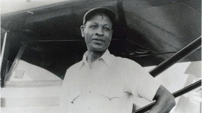 An undated photo shows Cornelius Coffey