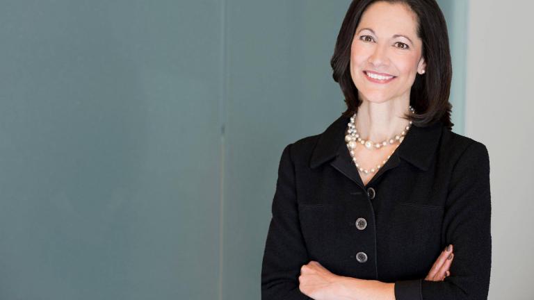 Former Exelon CEO Anne Pramaggiore, who retired Tuesday (Exelon / Facebook)