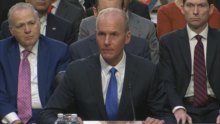 Boeing CEO Dennis Muilenburg (WTTW News)