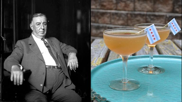 """William Hale """"Big Bill"""" Thompson and the cocktail he inspired."""