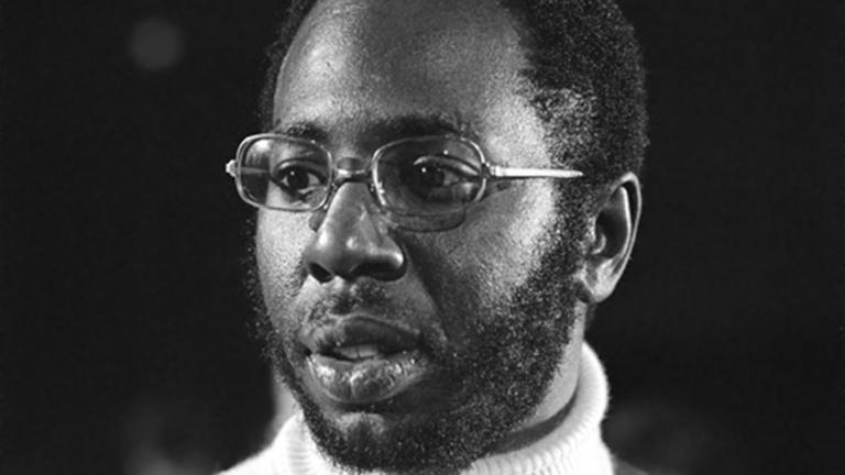 Curtis Mayfield performs for Dutch television in 1972.