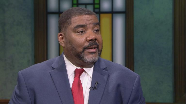 "Acting Director Marc Smith appears on ""Chicago Tonight."""