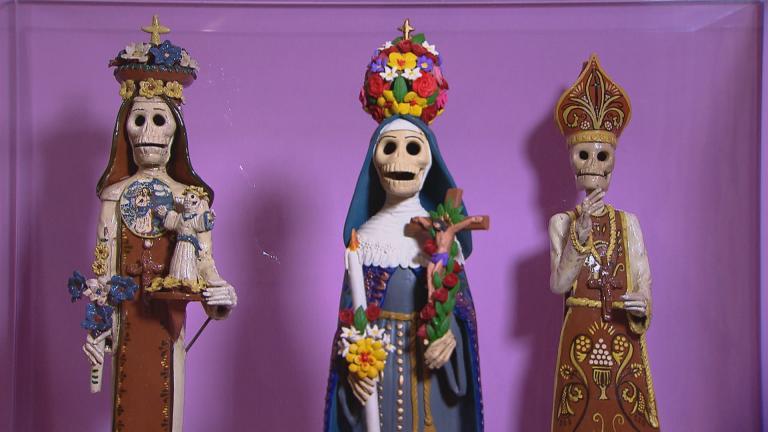 (Sólo un poco aquí: Day of the Dead, National Museum of Mexican Art)