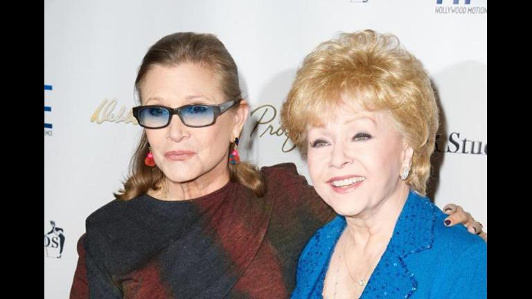 Carrie Fisher, left, died Tuesday. Her mother Debbie Reynolds, right, died Wednesday after having a stroke. She was 84 years old. (Debbie Reynolds / Facebook)