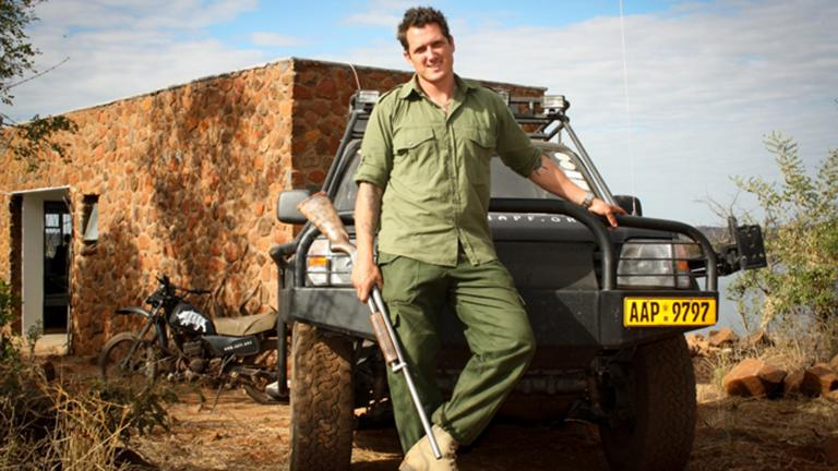 Damien Mander (Courtesy of the International Anti-Poaching Foundation)