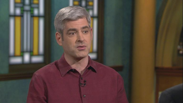 "Scientist Dan Hooper appears on ""Chicago Tonight"" on Nov. 25, 2019. (WTTW News)"