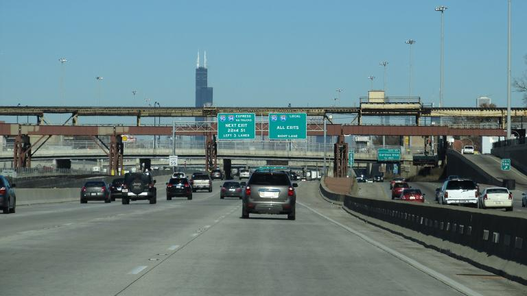 Anti-violence protesters plan to shut down a portion of the Dan Ryan Expressway on Saturday, July 7, 2018. (Ken Lund / Flickr)