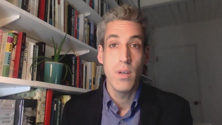 Daniel Biss (WTTW News via Zoom)