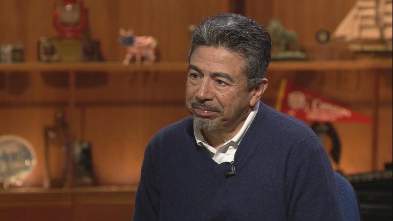 "Ald. Danny Solis, 25th Ward, appears on ""Chicago Tonight"" on Nov. 26, 2018."