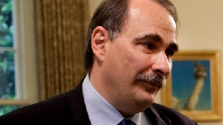 David Axelrod, Image Credit: WhiteHouse.gov