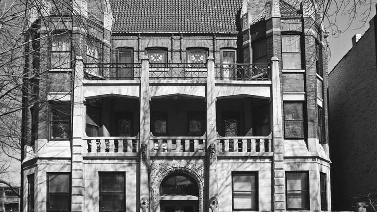 Launten Apartment Building, 1907. (Credit: Susan O'Connor Davis)