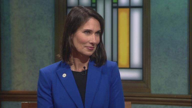 "Deborah Hersman appears on ""Chicago Tonight."""