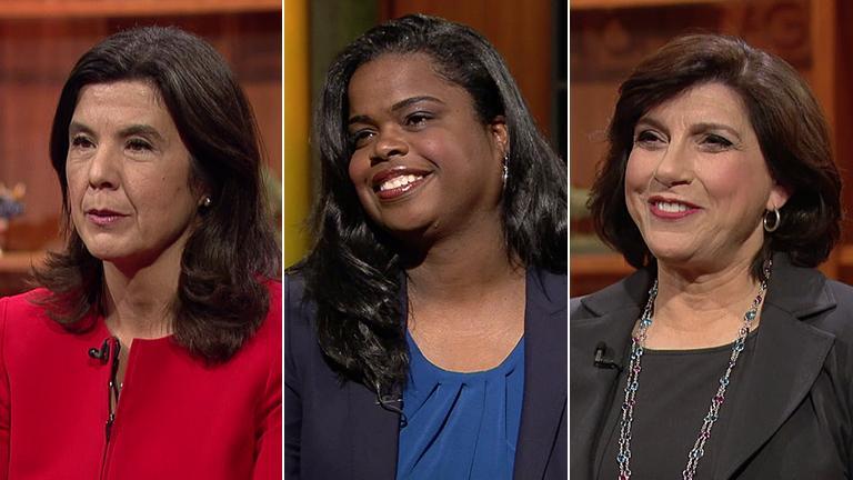 From left: Anita Alvarez, Kimberly Foxx, Donna More.