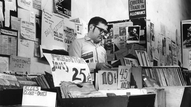 Delmark Records founder Bob Koester (Courtesy City of Chicago)