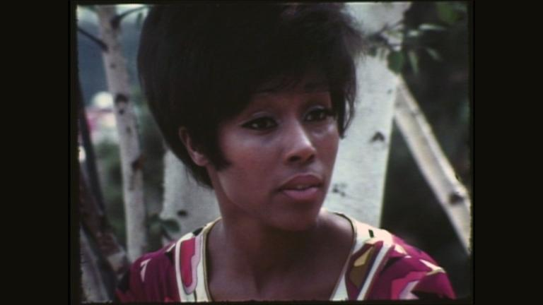 "A still image from video shows an interview with Diahann Carroll on ""Our People."" (WTTW)"