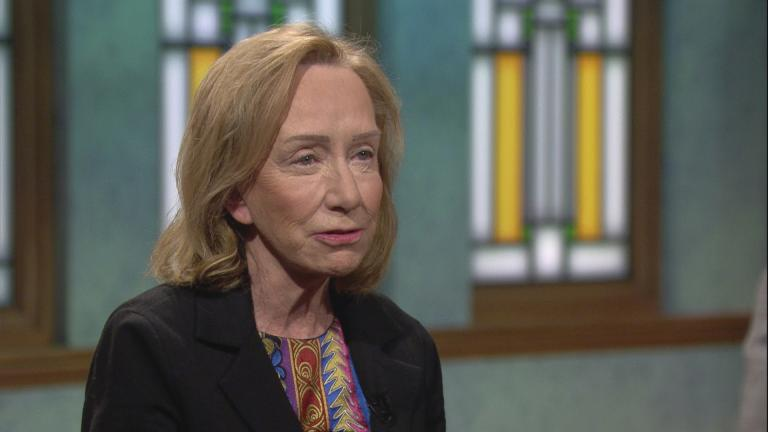 "Doris Kearns Goodwin appears on ""Chicago Tonight"" on Nov. 5, 2018."