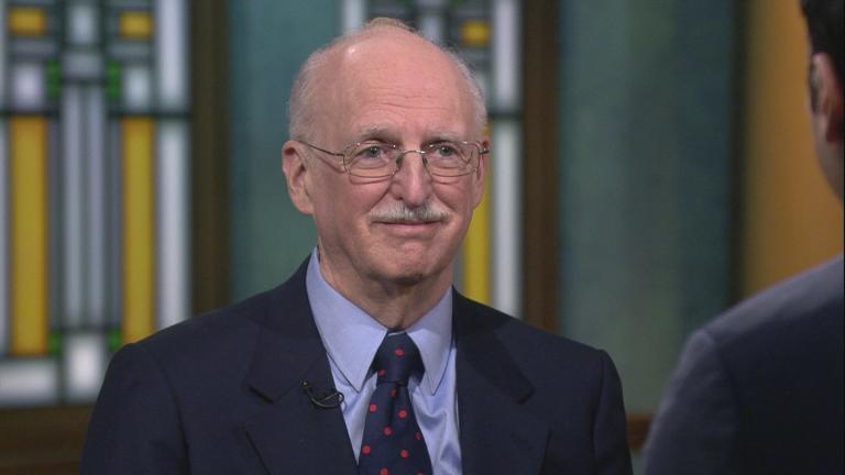 "Judge Douglas Ginsburg appears on ""Chicago Tonight"" on Feb. 4, 2020. (WTTW News)"