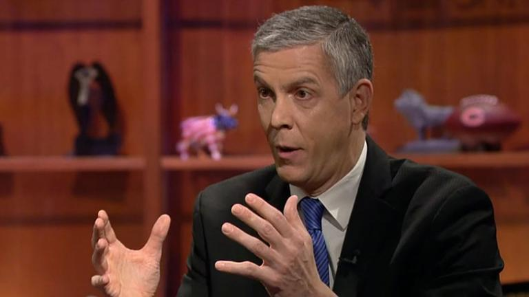 Arne Duncan (Chicago Tonight)