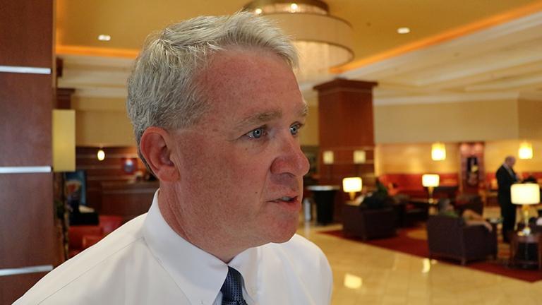 Illinois House Minority Leader Jim Durkin (Evan Garcia / Chicago Tonight)