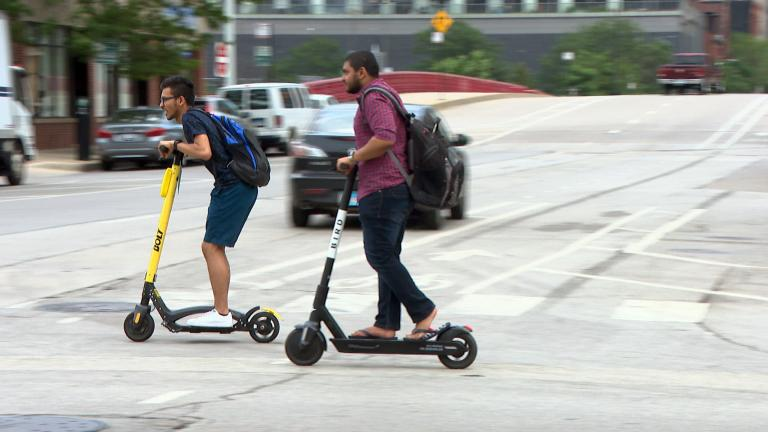 While officials discuss a possible future permanent e-scooter program in Chicago, several members of City Council are raising safety concerns about the swift modes of transport. (WTTW News)