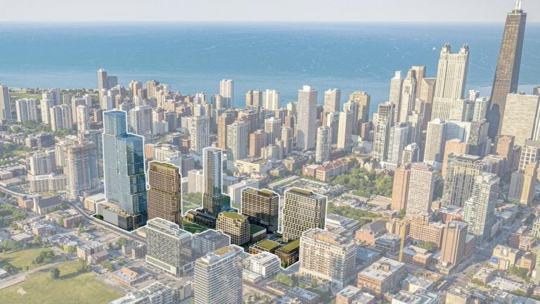 A rendering of the proposed North Union Development. (Credit: JDL Development)