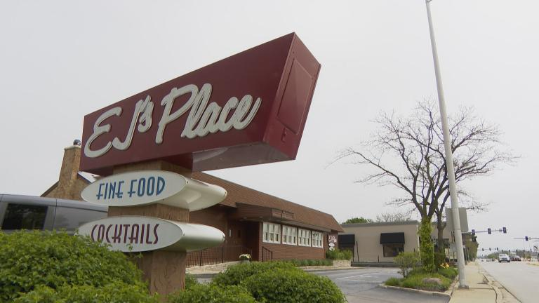 The restaurant EJ's Place in Skokie, Illinois. (WTTW News)