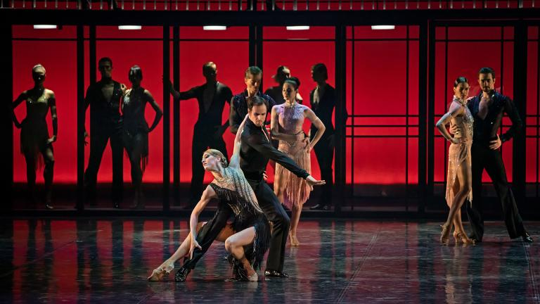 "Eifman Ballet of St. Petersburg in ""The Pygmalion Effect."" (Photo by Michael Khoury)"