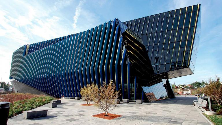 Northeastern Illnois University's El Centro campus in Avondale (World Architects / Facebook)