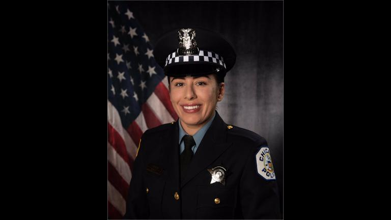 Chicago police Officer Ella French (@TomAhernCPD / Twitter)