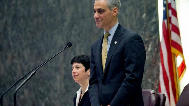 Mayor Rahm Emanuel © 2011 City of Chicago, photo by Brooke Collins