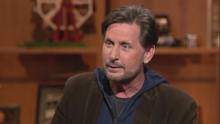 "Filmmaker and actor Emilio Estevez appears on ""Chicago Tonight"" to discuss his film ""The Public."""