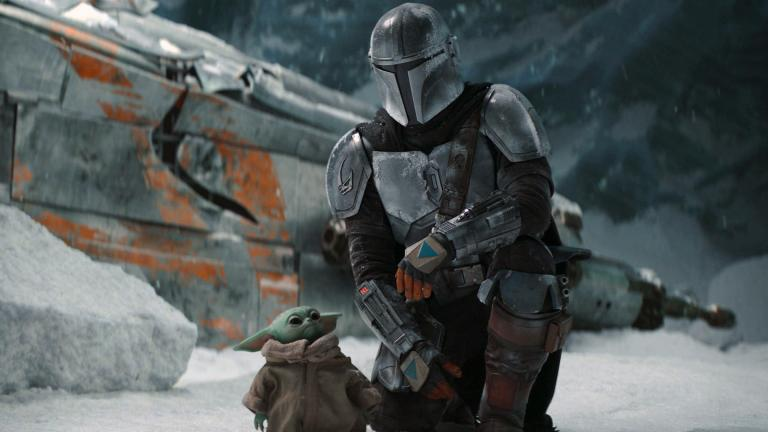 """This image released by Disney+ shows Pedro Pascal in a scene from """"The Mandalorian."""" (Disney+ via AP)"""