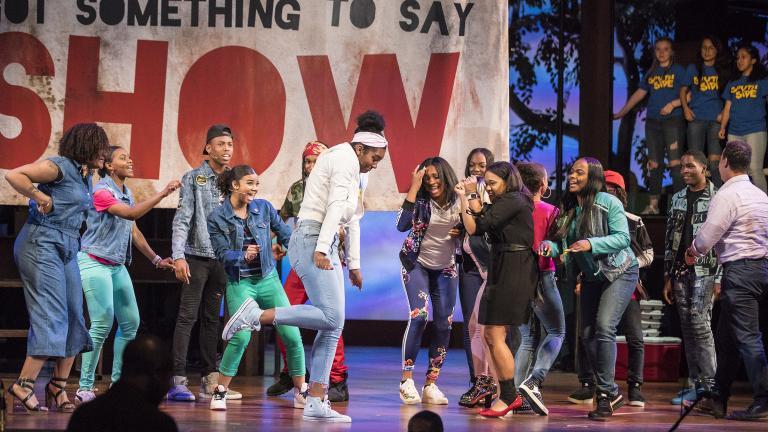 """Empower"" performance May 31, 2018 at the Lyric Opera House. (Credit: Todd Rosenberg)"
